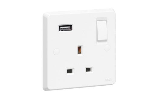 Single socket With USB